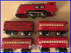 Marx O Scale Train set Commodore Vanderbilt loco-tender & 3 cars VERY NICE NR