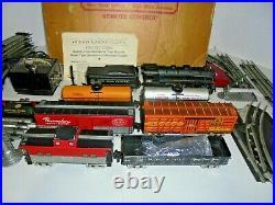 Marx Postwar Vintage O Gauge Train Set With Original Box Very Nice