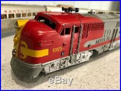 Marx Santa Fe Passenger Train Set withOB-Good to Very Good Condition