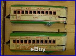 Marx Trains Prewar Union Pacific Stream Line Electrical Set Boxed Very Nice