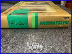 Minitrix Exclusive 11017 N Scale Orient Express Train Set very collectible set