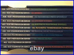 Mitchell1 ASE Test Preparation Series 2004 Complete Box Set 11 Books VERY FINE