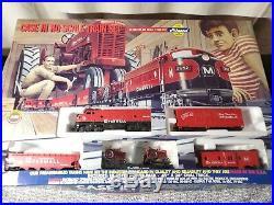 NIB Athearn Case IH Farmall HO Scale Train Set Limited Edition #02407 VERY RARE