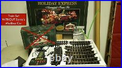 New Bright Industrial HOLIDAY EXPRESS Train Set (384) Christmas Very Good Cond