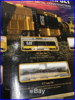 Norscott Cat Ho Scale Model Train Set Very Rare Sealed