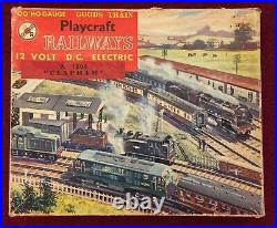 Playcraft 00 HO Gauge Clapham Goods Train Set tested very good Made by Jouef