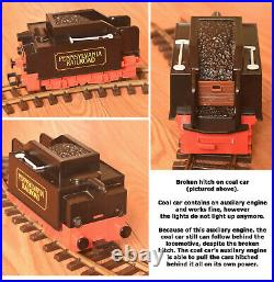 Playmobil 4029 Steam Freight Train set (1986), G-Scale, Used, VERY RARE