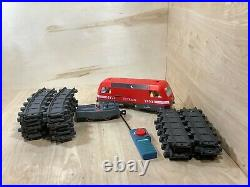 Playmobil Train 4010 RC Cargo Engine Geobra Incomplete Set Works Very Good