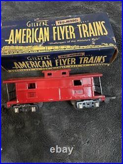 Prewar american flyer train set. Steam Locomotive #561 Withcoal Car 558, VERY RARE