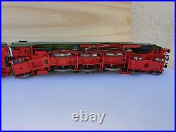 Roco Platin 63197 GREEN lok with DOUBLE tender, H0 187, very RARE train set