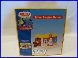 Sodor Service Station 2002 99350 Thomas the Tank Engine Train Set NIB Very Rare