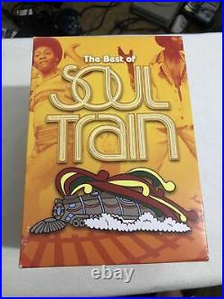 The Best of Soul Train (9 DVD Box Set) TV's SOUL MUSIC EXTRAVAGANZA Very Rare