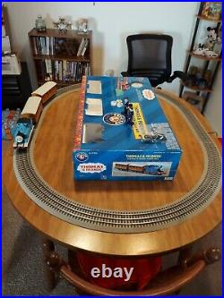 Thomas & Friends Lionel O Scale Train Set Complete Works Great Very Nice