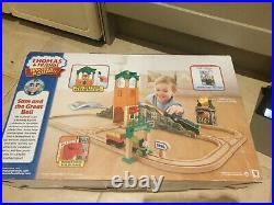 Thomas Wooden Railway- Sam and the Great Bell Set Very rare