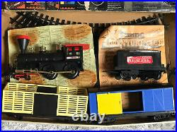 Timpo Toys Us Wild West Midnight Express Train Hold Up Railway Set Very Rare