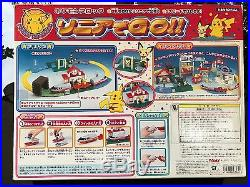 Tomy, Pocket Monsters (POKEMON) train set, in Very Good Condition