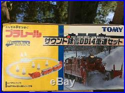 Tomy Real Sound DD14 Snow Blower Train Set, 4 pc train (In Very Good Condition)