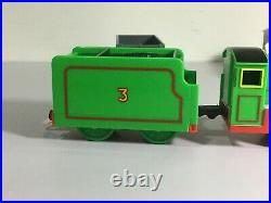 Tomy Trackmaster Plarail Old Shaped Henry With his Original set VERY MINT