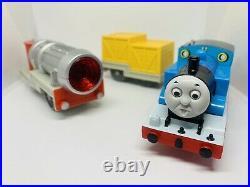 Tomy Trackmaster Plarail Thomas & The Jet Engine FULL SET VERY MINT CONDITION