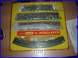 Triang 00 Gauge Rs8 The Midlander Model Railway Train Set Boxed Very Nice Condit