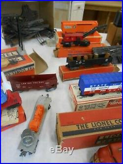 VERY Large Beautiful Vintage Lionel Train Set with lots of track and boxes