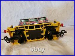 VERY RARE VTG Playmobil Graffiti Caboose Train 4118 Fits RC Train Tracks & Set