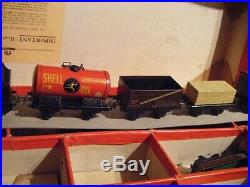 Very Large Train set Pre War TRAIN SET original BOXED LMS GOODS TRAIN