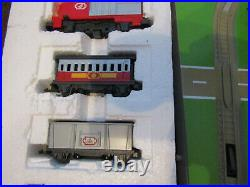 Very Rare 1993 Matchbox Railways Motorised Trainset Working But Missing 1 Clip