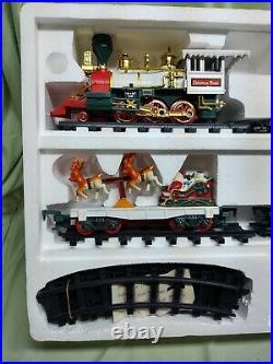 Very Rare 1994 NorthPole Toy Shop Polar Express Christmas Train Set