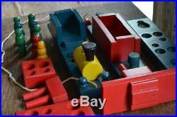 Very Rare #5170 Floor Holgate Toys Wooden Train Set 1948