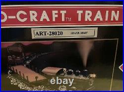 Very Rare Aristocraft U. S. Army Complete G Scale Train Set MIB