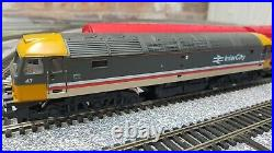 Very Rare Hornby R591 Night Mail Complete Train Set in VGC Class 47 Royal Mail