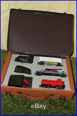 Very Rare Lionel Used Ho 1961 Take Me Along Valise Pack #5767 Train Set