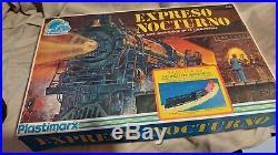 Very Rare-Plastimarx Expreso Nocturno Electrico Train Set Complete