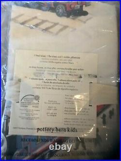 Very Rare! Pottery Barn Thomas The Train Toddler Organic Sheet Set
