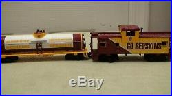 Very Rare The Danbury Mint Washington Redskins Express Train Set