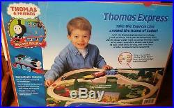 Very Rare Thomas and Friends Thomas Express Battery Powered train Set