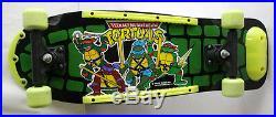 Very Rare Vintage 1990 Tmnt Ninja Turtles Wooden Skate Board New Nos