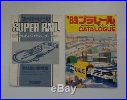 Very Rare Vintage TOMY SUPER RAIL Train Set JAPAN