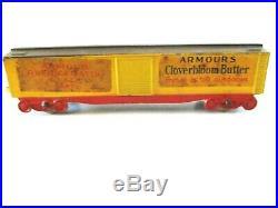 Vintage 1930's Tootsietoy Pennsylvania Die-cast Train Set of 8 Pieces Very Good