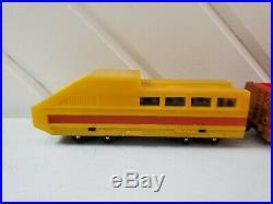 Vintage 1970 Mattel Hotline Train Case Set In Original Box. Very Good Condition