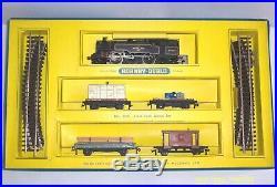 Vintage 2 Rail Hornby Dublo 2019 2-6-4 Tank Goods Train Set. Very Good Condition
