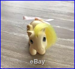 Vintage G1 My Little Pony Brazilian NBBE Baby Lofty RARE VERY HTF GRAIL