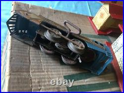 Vintage Hafner Tin Train Set #40- Very Good Condition