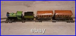 Vintage Hornby Clockwork Train Set No1 Passenger Set very old