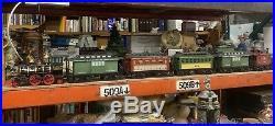 Vintage JIM BEAM (6) Piece Train Set Decanters, J. B. Turner Loco. Very HTF