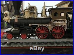 Vintage JIM BEAM 7pc Train Set Decanters, (6) Track, J. B. Turner Loco. Very HTF