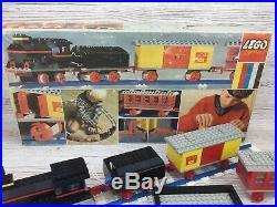 Vintage Lego System Set 116 Motorized Train Set 1967 Very Rare Boxed