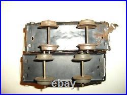 Vintage Prewar Ives No. 11 Clockwork Windup Train Set In Very Good Condition