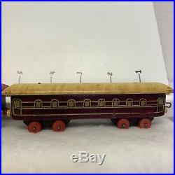 Vintage Wooden Train Set Very Rare